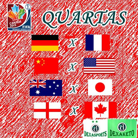 Quartas De Finais - Mundial Feminino Canada 2015 - Dexaketo