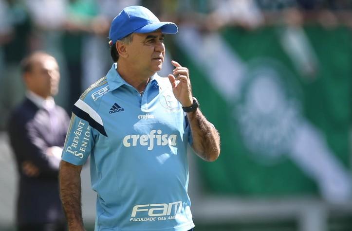 Marcelo Oliveira não gostou da atuação do Palmeiras no jogo contra o Atlético-PR. (Foto: Cesar Greco / Fotoarena)