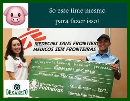 Palmeiras e ação social - Dexaketo