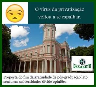 Privatização na Pos - Dexaketo