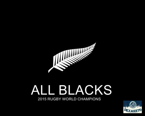 All Blacks - New Zealand - 2015 Rugby World Champions - Dexaketo