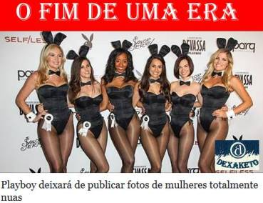 Playboy Sem Mulher Nua - Dexaketo