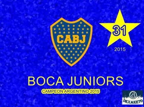 Boca Juniors - Campeon Argentino 2015 - Dexaketo
