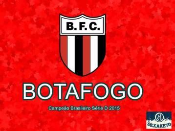 Botafogo Campeão Brasileiro Série D 2015 - Dexaketo