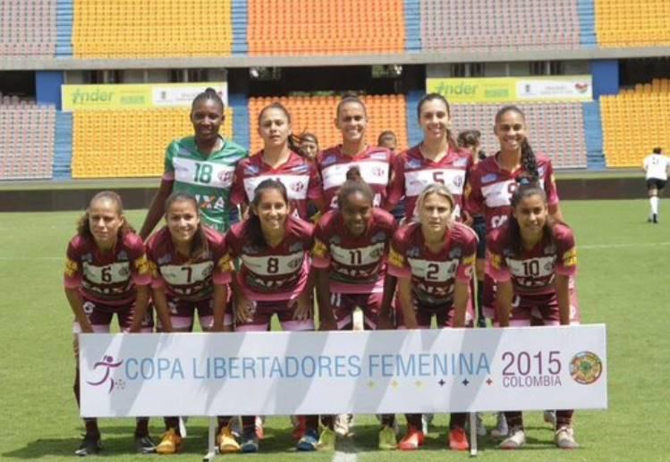 Ferroviaria Campeã Libertadores Feminina 2015