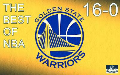 Golden State Warriors - 16-0 - Dexaketo