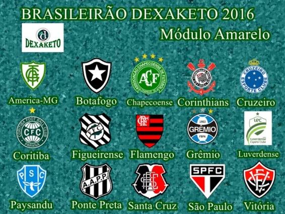 Brasileirão Dexaketo 2016 - Modulo Amarelo