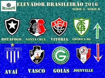 Elevador Brasileirão Série A - Série B 2015 - Dexaketo