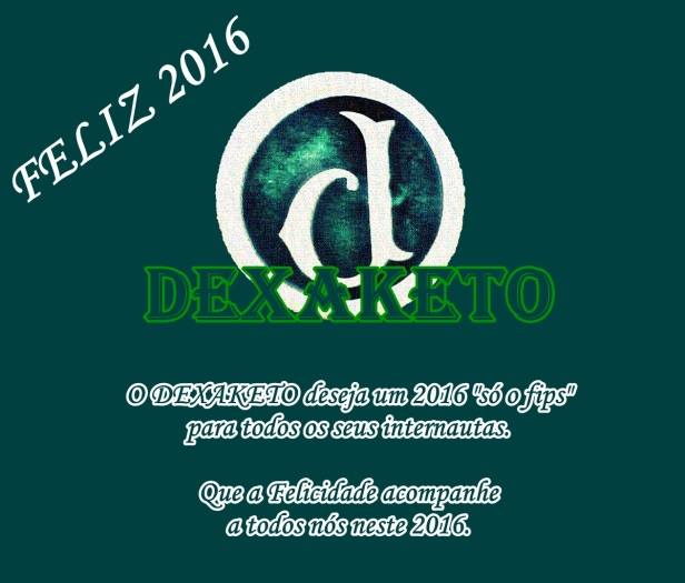 Feliz 2016 - Dexaketo