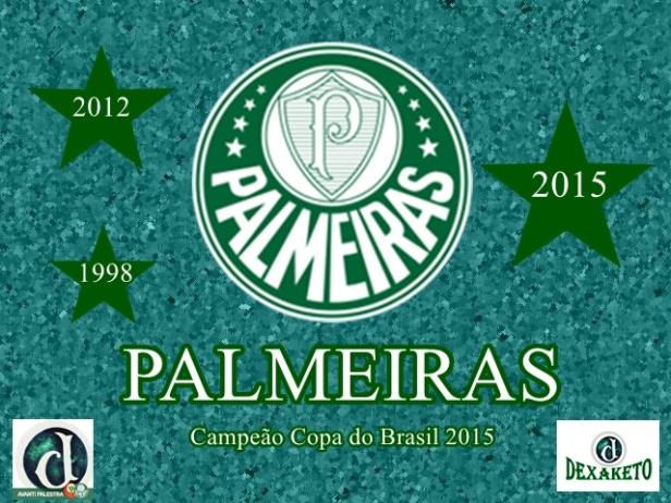 Palmeiras Campeão Copa do Brasil 2015 - Dexaketo