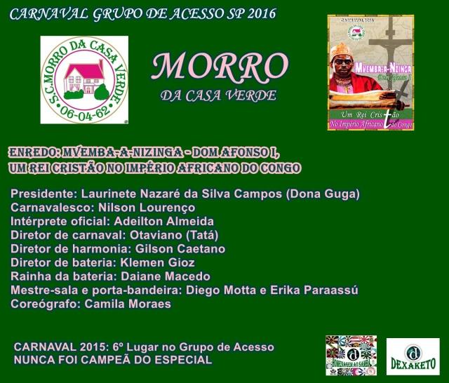 Morro 2016 - Dexaketo