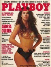 Andrea Guerra playboy setembro 1991