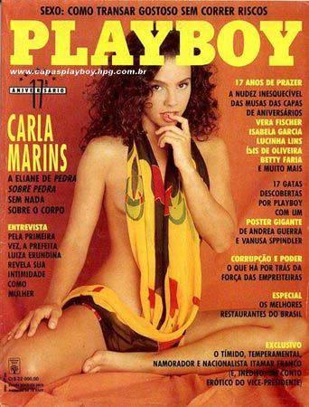 Carla Marins Playboy Agosto 1992