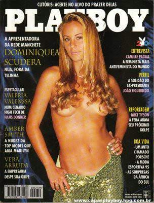 dominiquea scudera playboy junho 1995
