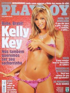 Kelly Key Playboy Dezembro 2002