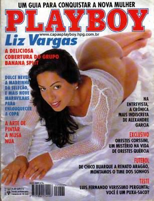 Liz Vargas Playboy Junho 1994