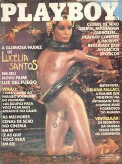 Lucelia Santos Playboy Novembro 1981