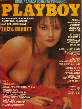 Luiza Brunet - Playboy - Dezembro 1984