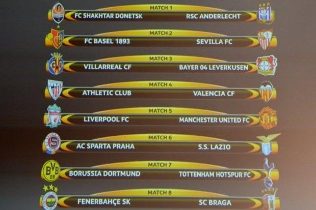 Oitavas Liga Europa 2016