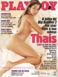 Thais BBB Playboy Janeiro 2003
