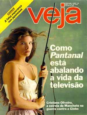 Pantanal Novela Manchete - O Fenomeno