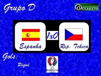 Espanha X República Tcheca - UEFA EURO 2016 - Dexaketo