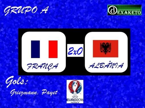 França X Albania - UEFA EURO 2016 - Dexaketo