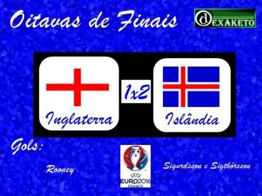 Inglaterra X Islandia - Oitavas - UEFA EURO 2016 - Dexaketo