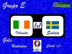 Irlanda X Suecia - UEFA EURO 2016 - Dexaketo