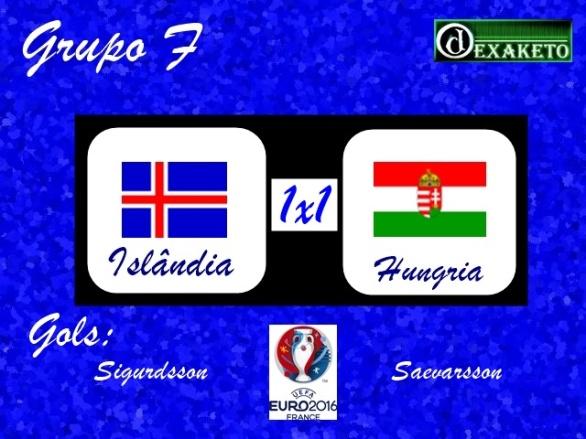 Islandia X Hungria - UEFA EURO 2016 - Dexaketo