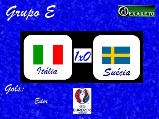 Italia X Suecia - UEFA EURO 2016 - Dexaketo