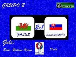 Pais de Gales x Eslovaquia - UEFA EURO 2016 - Dexaketo