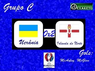 Ucrânia X Irlanda do Norte - UEFA EURO 2016 - Dexaketo