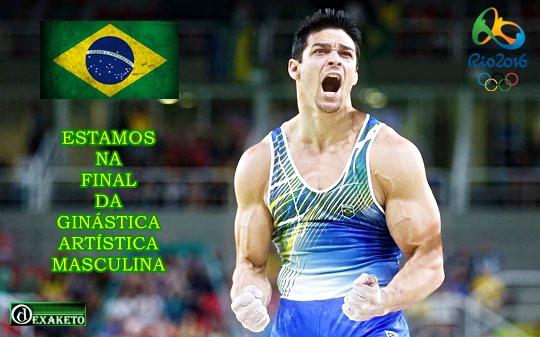 Brasil FInal Ginastica Artistica Masculina - Rio 2016 - Dexaketo