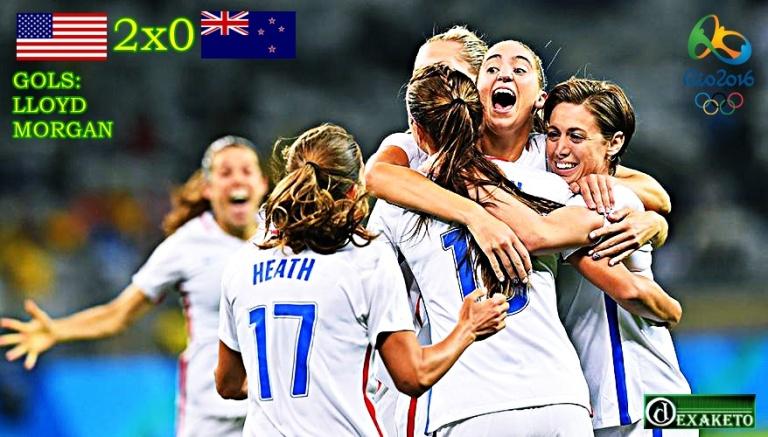 USA Wins New Zealand - Rio 2016 - Dexaketo