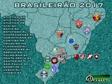 Clubes do Brasileirão 2017