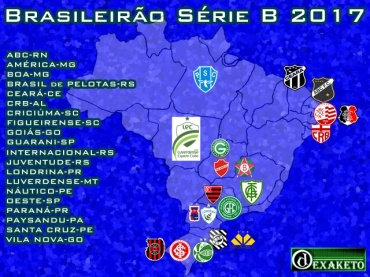 Clubes da Série B 2017