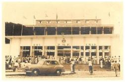 Faixada histórica do PV - Inauguração