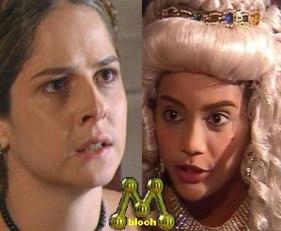 Xica da Silva e Violante - Manchete