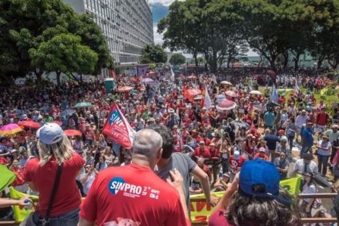 Brasil contra a Reforma da Previdência