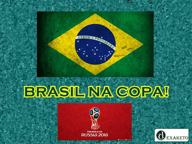 Brasil Na Copa 2018 - Dexaketo