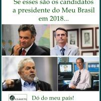 Candidatos a Presidente do Brasil 2018