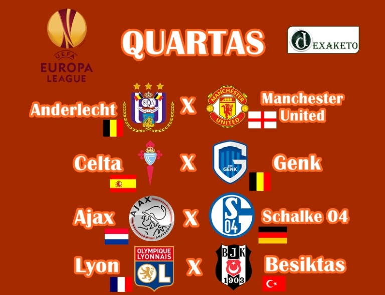 Quartas - UEFA Europa League 2016-17 - Dexaketo