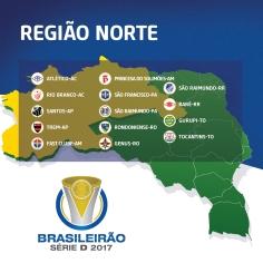 Times - Região Norte - Brasileirão Série D 2017