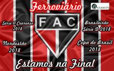 Ferroviario na Final do Campeonato Cearense 2017 - Dexaketo