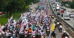 Motoqueiros - UGT - Greve Geral 2017