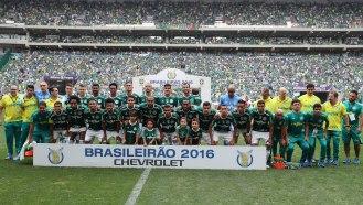 São Paulo 27 11 2016-Alianz Parque Chapecoense e Palmeiras pelo campeoonato Brasileiro onde o Palmeiras sagrou-se Campeaão Brasileiro Ricardo Stuckter(CBF)