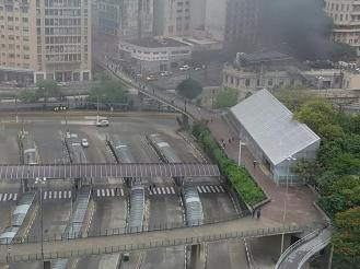 Trens parados - Greve SP 2017