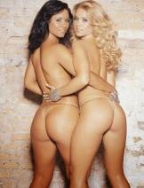 Valeria Machado e Mariana Skieres - Primeiras Panicats