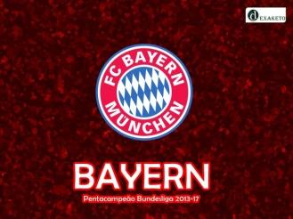 Bayern - Pentacampeão Alemão - 2013-17 - Dexaketo